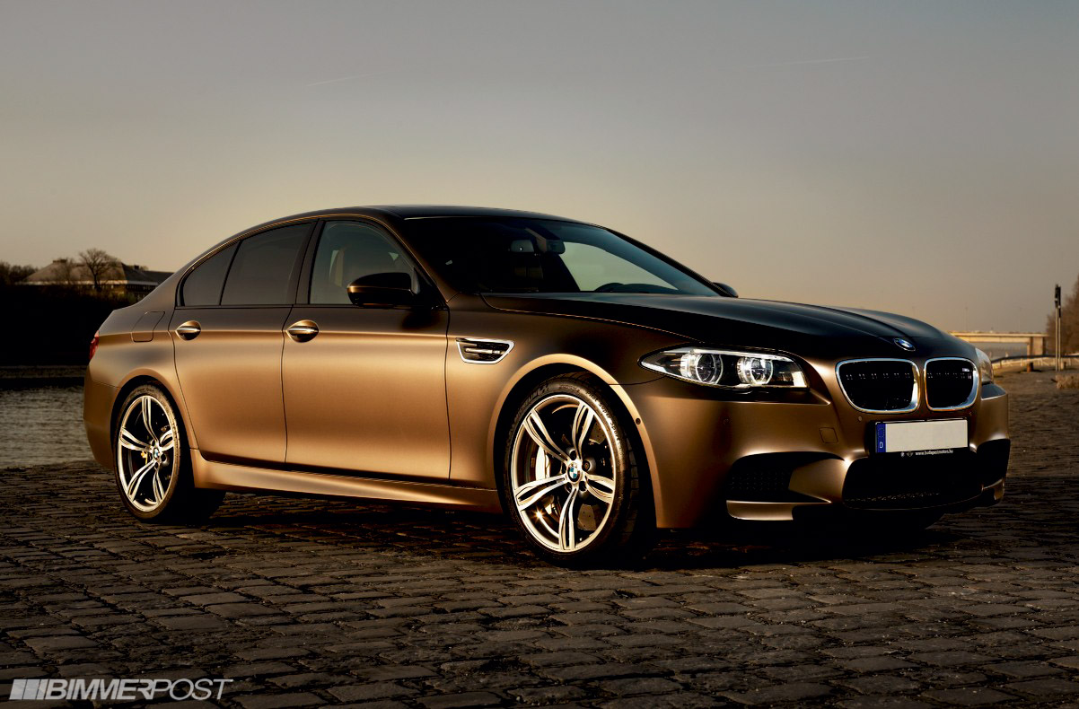 Just Ordered A 2015 Frozen Bronze 550i Msport