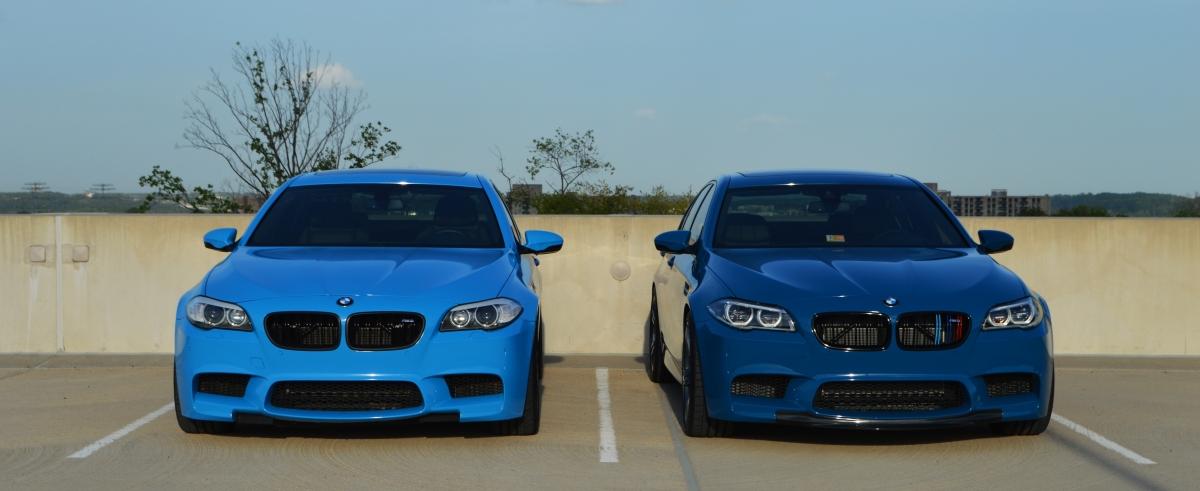 Rivera Blue M5 Versus Laguna Seca Blue M5 Massive Photoshoot