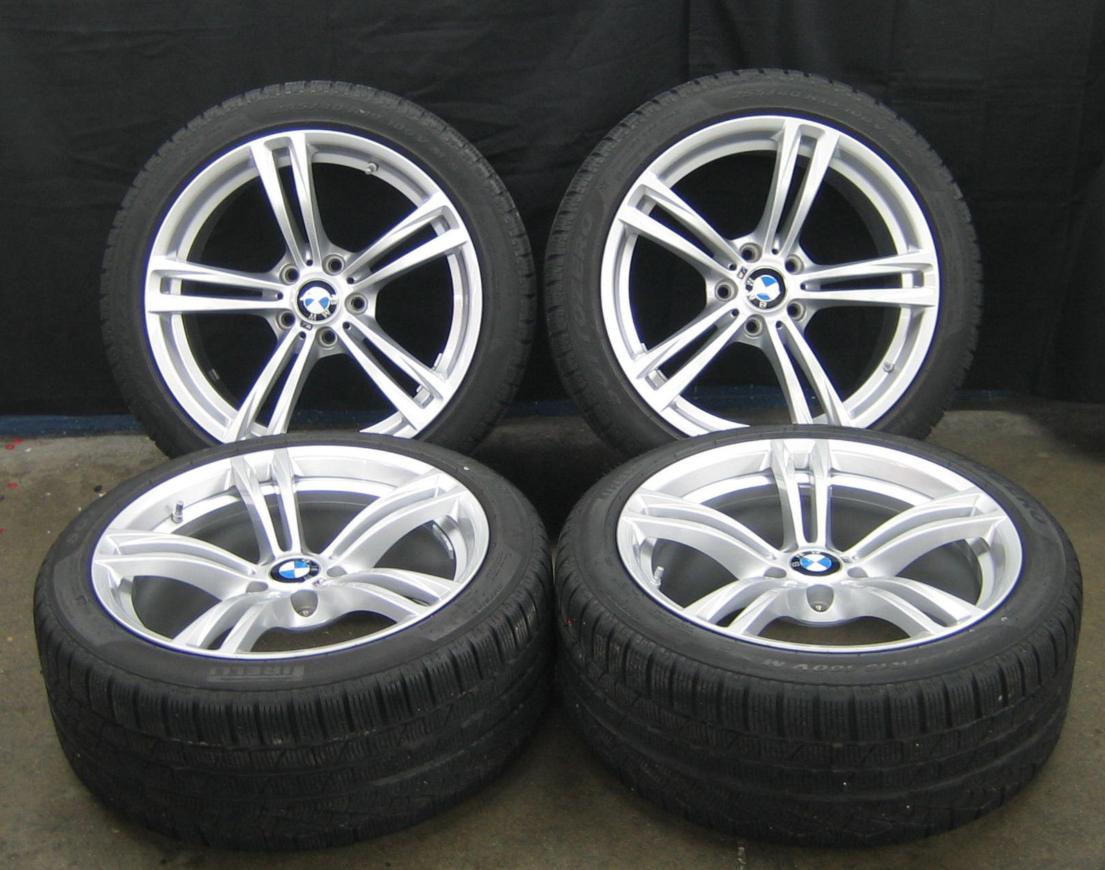 machined charcoal bmw with wheel style rim styles oem