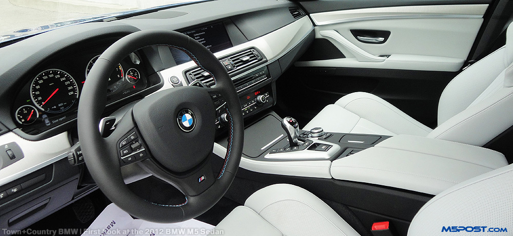 M5 Silverstone Extended Merino Leather complete Interior