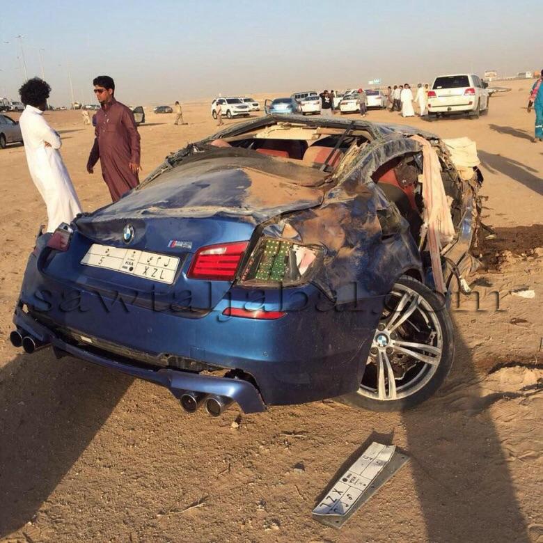 Unbelievable M5 Accident
