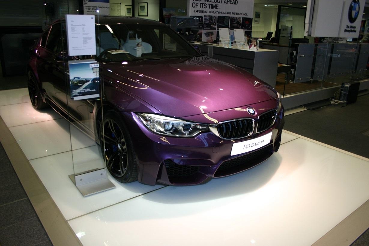 Individual Purple Silk F80 Lci M3
