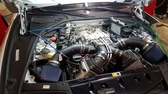 VRSF DP Install (pic heavy) - M5POST - BMW M5 Forum
