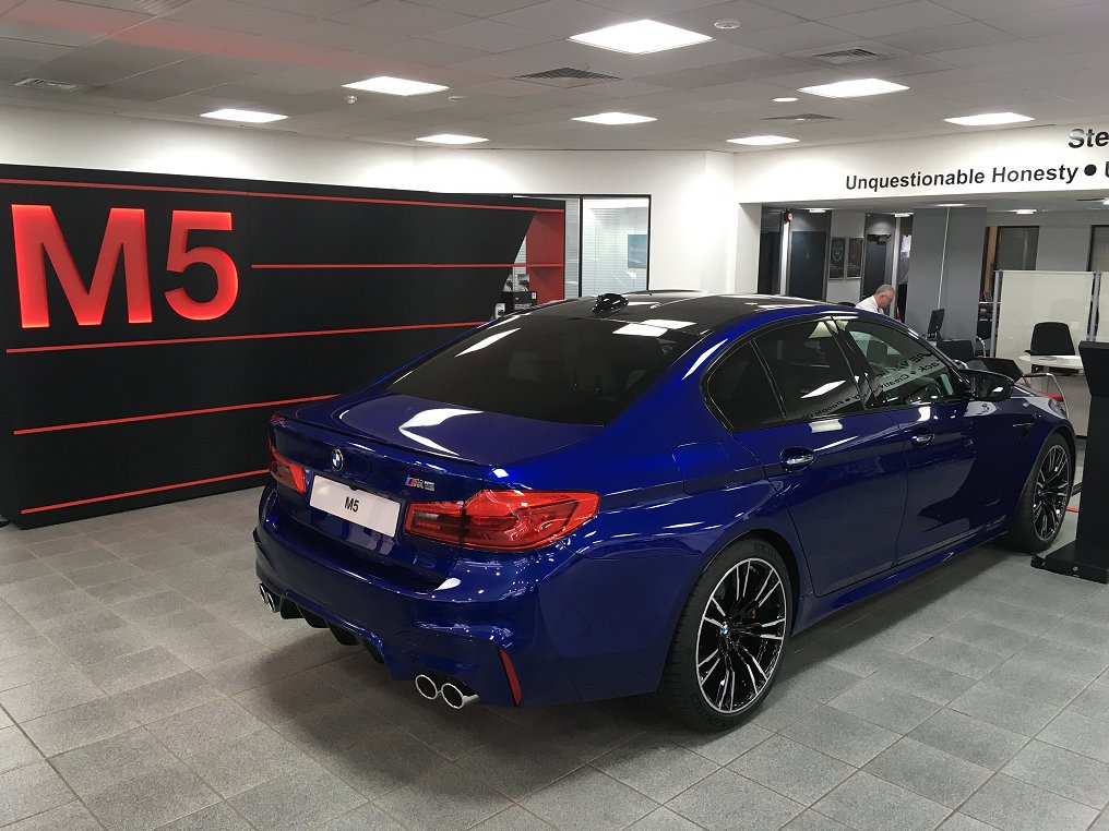 NEW 2018 M5 Just Landed At My Local Dealer