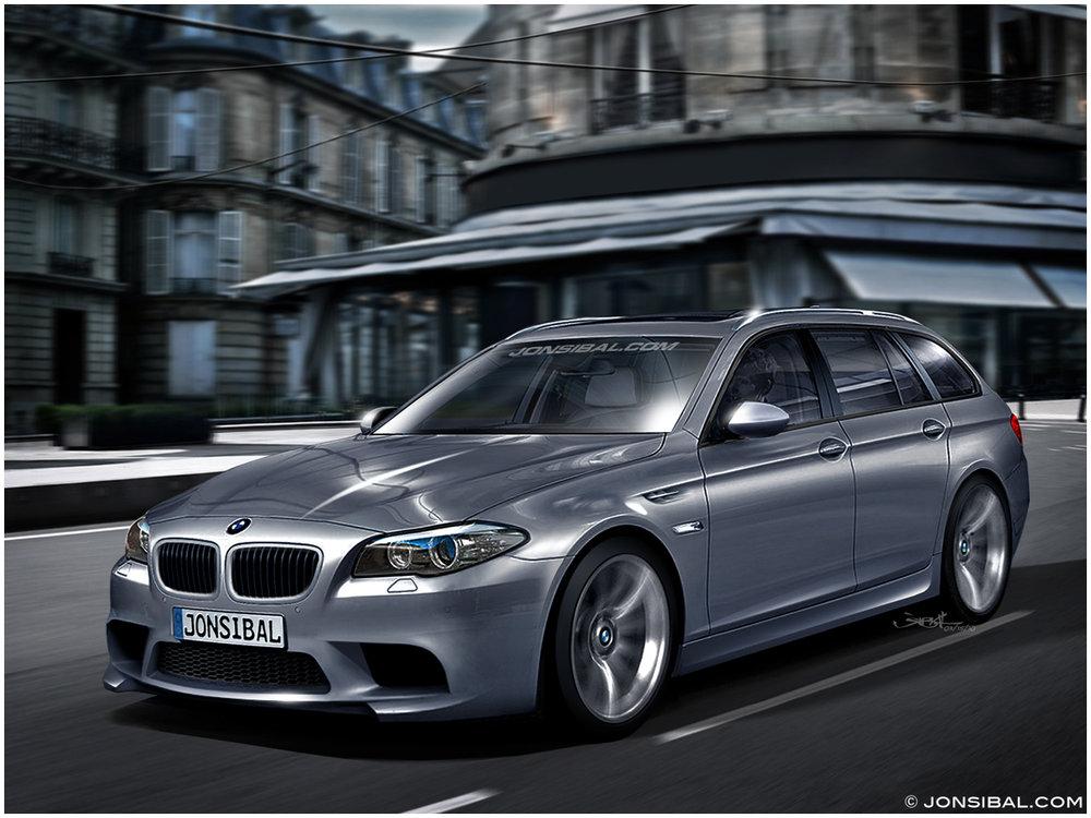 BMW F11 M5 Touring Concept by Jon Sibal