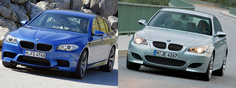 2012 BMW F10 M5 vs. E60 M5 Compared - M5POST - BMW M5 Forum