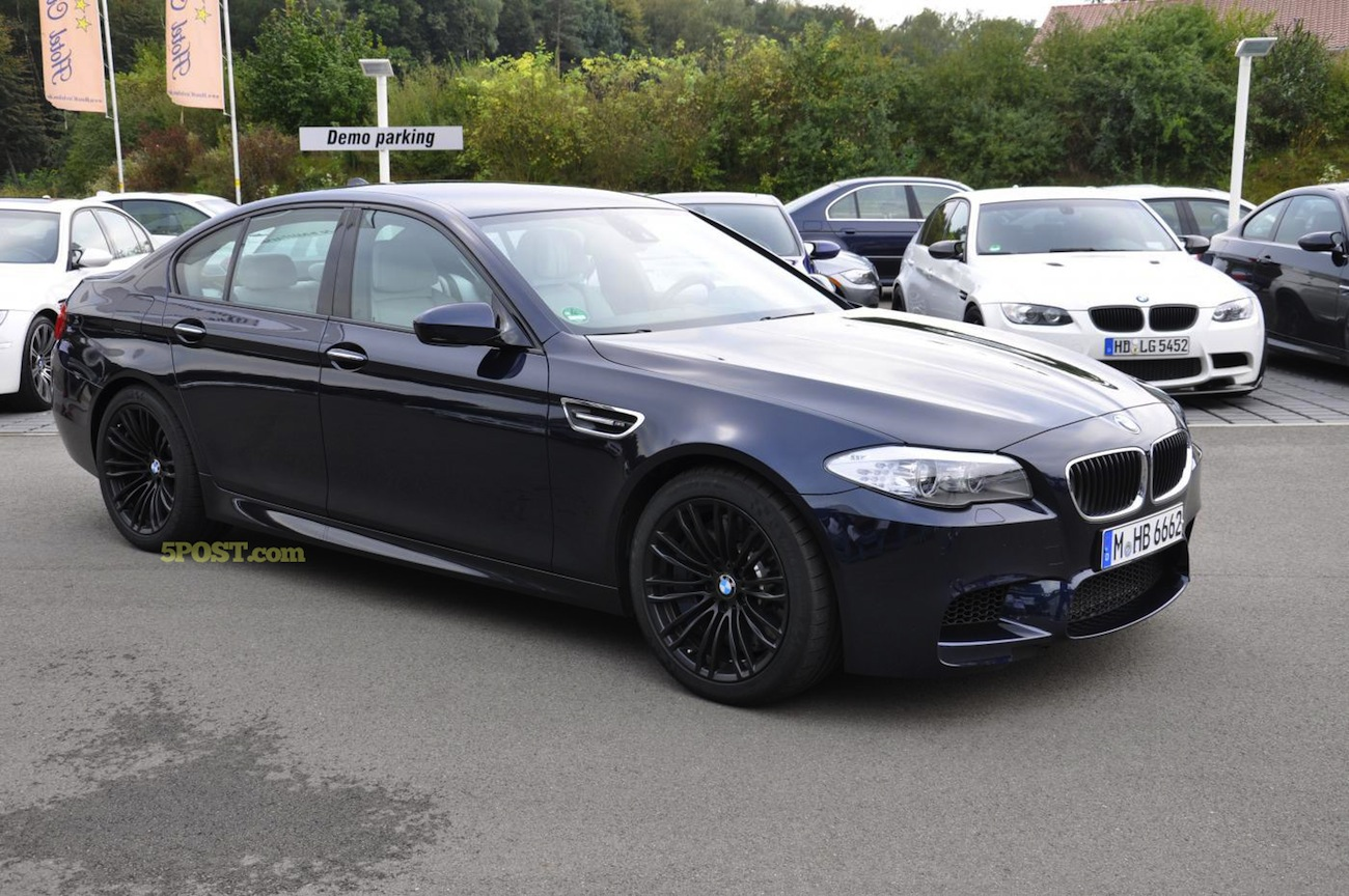 Imperial Blue F10 M5 Joins M Flight Meet