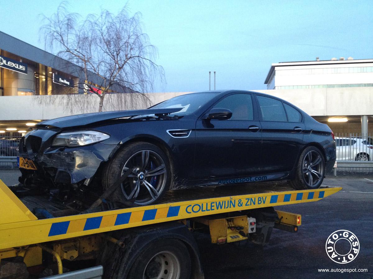 First BMW F10 M5 Crash =(