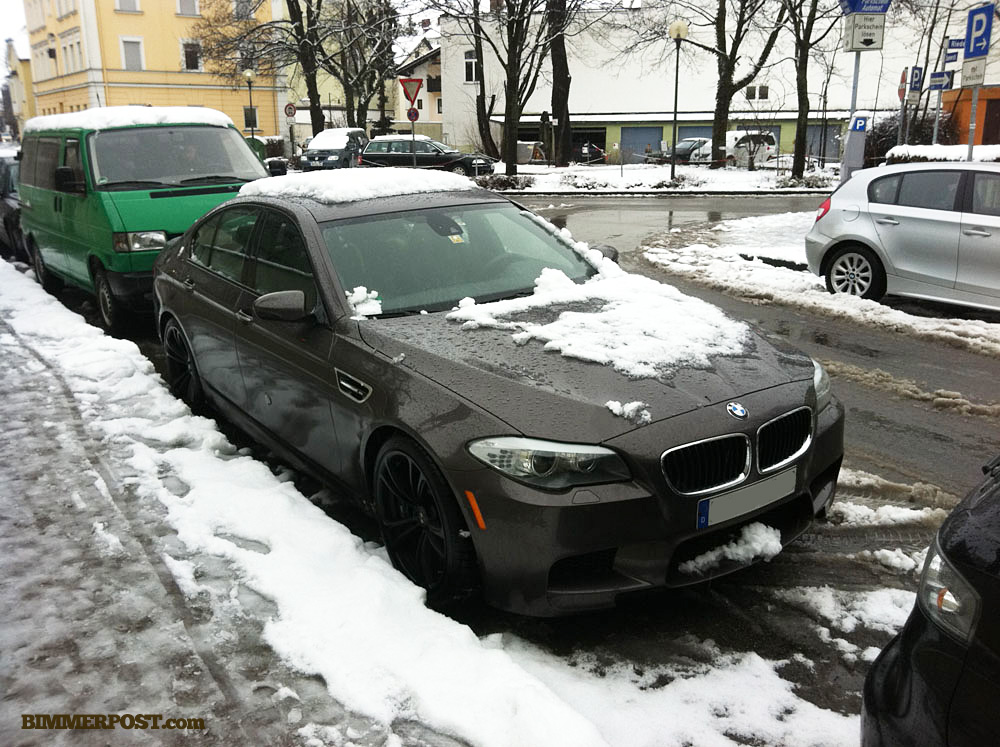 Havana M5 Out In The Snow Near Munich