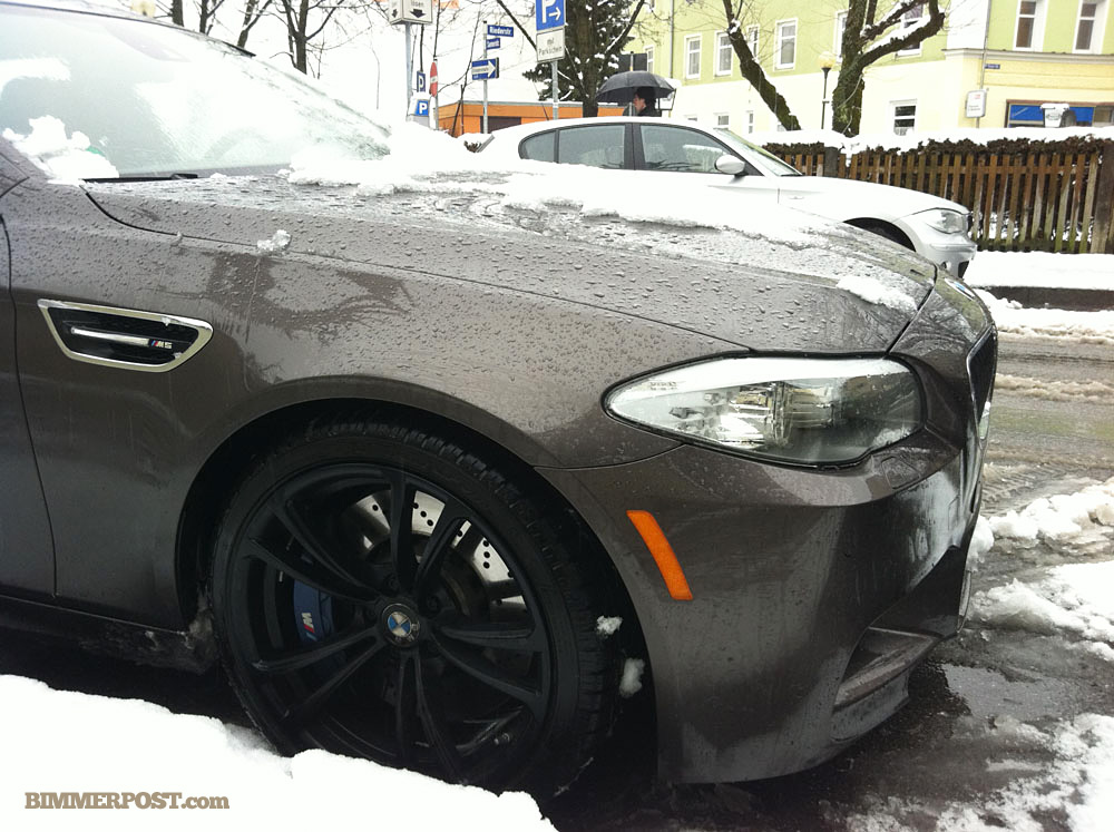 Havana M5 Out In The Snow Near Munich