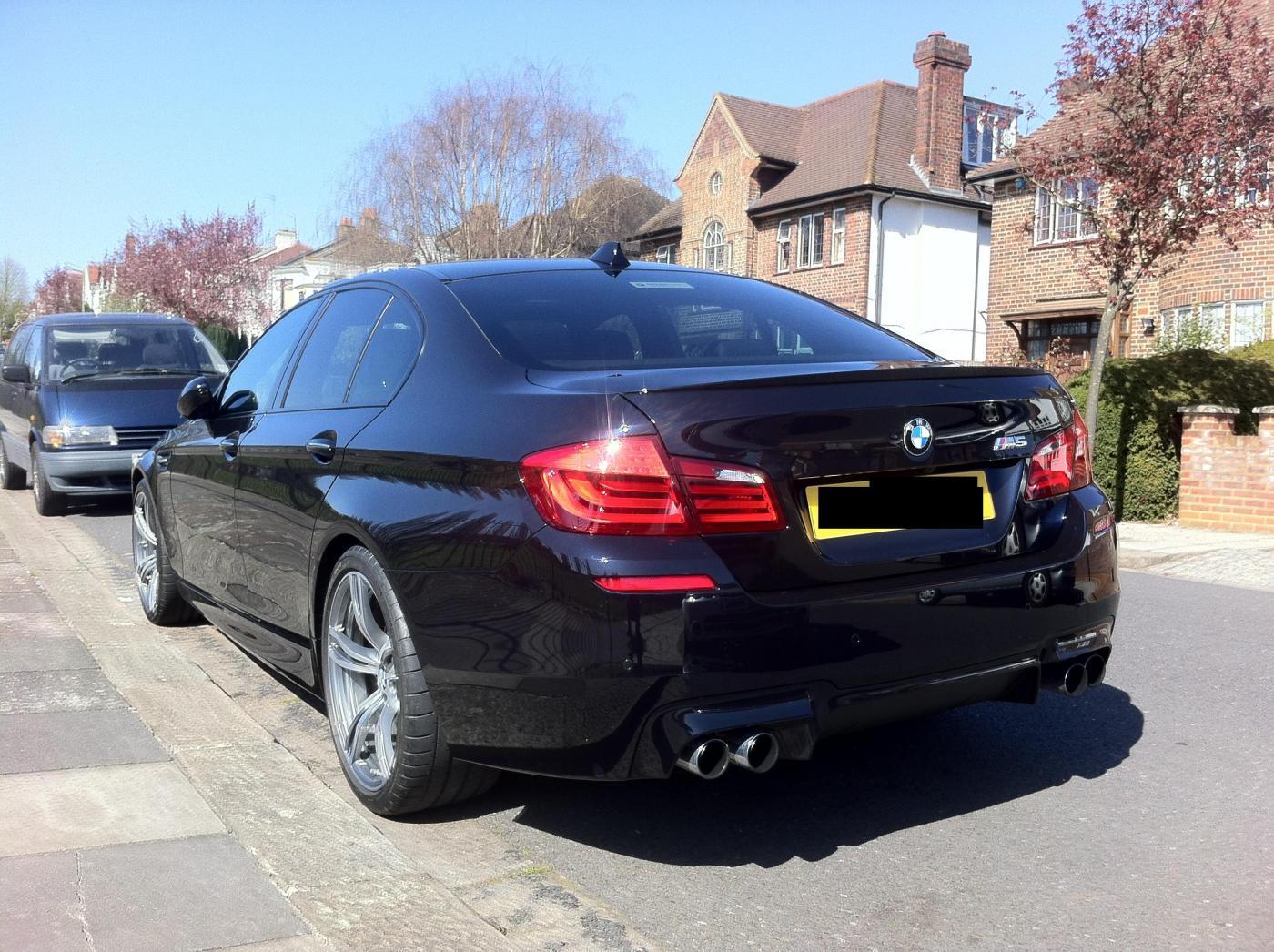My Azurite Black Individual F10 M5 Delivered