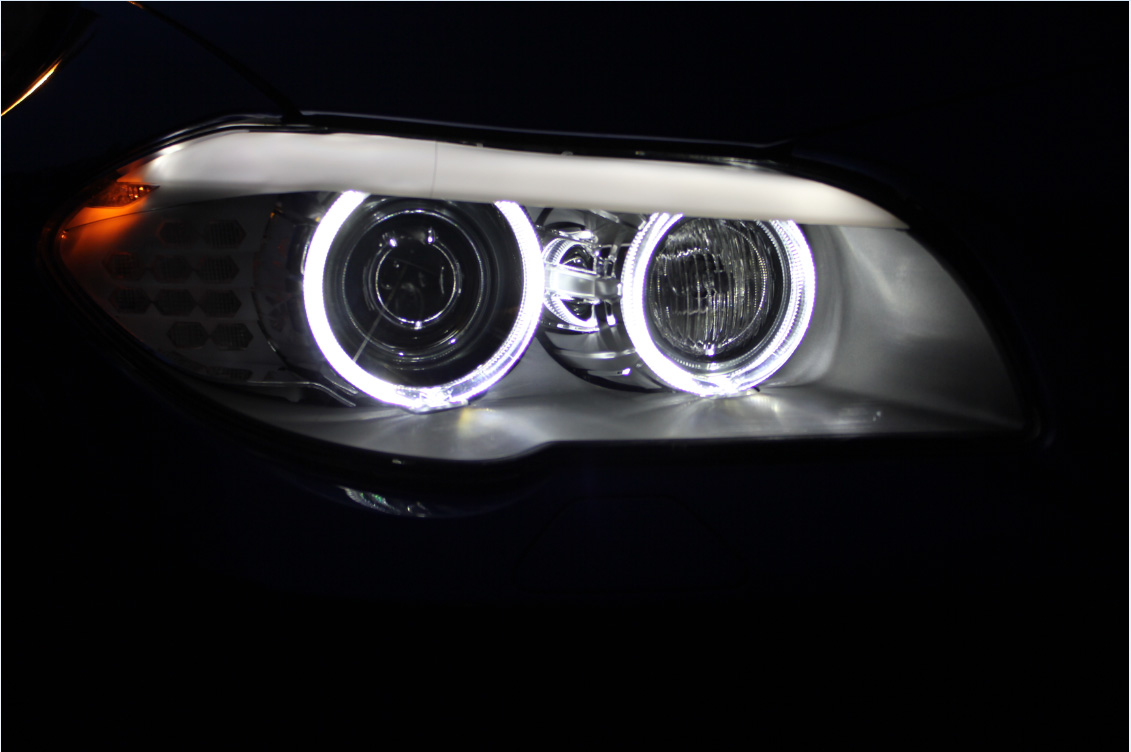 BMW angel eyes