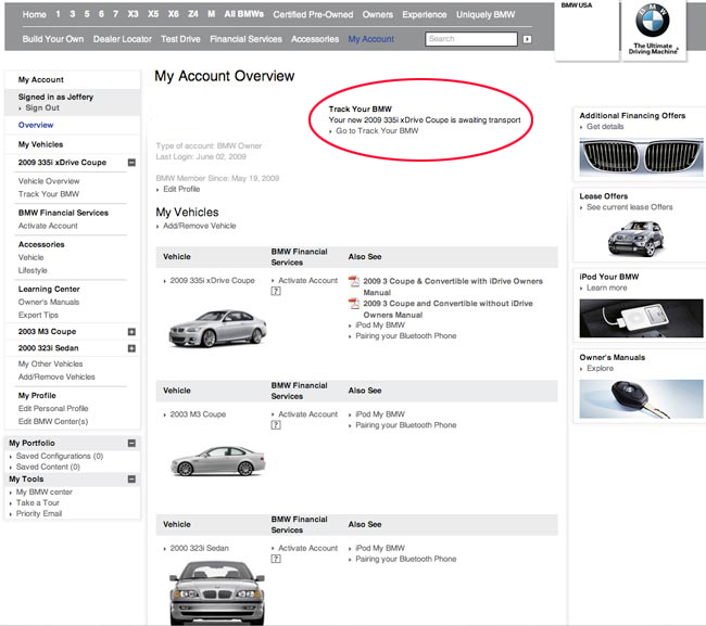 Ultimate Guide to BMW Tracking (Order and Delivery) - BMW 3