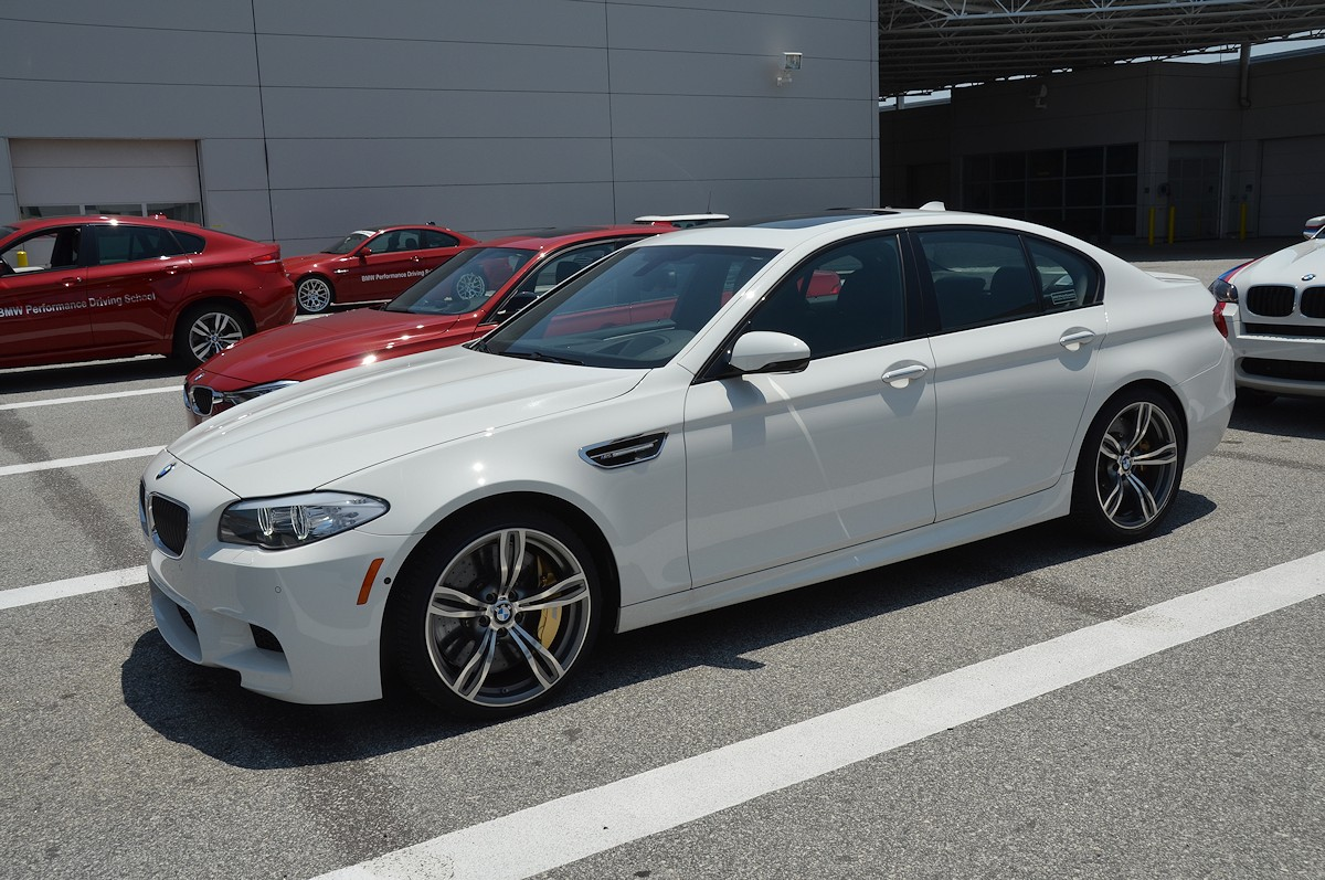 Drove The F10 M5 At The Bmw Performance Center