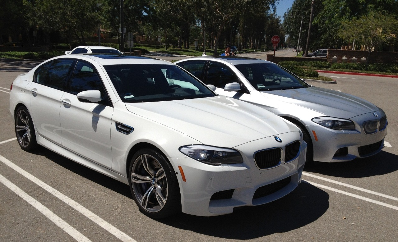 SoCal F10 M5  initial review and comparison to F10 550i M Sport