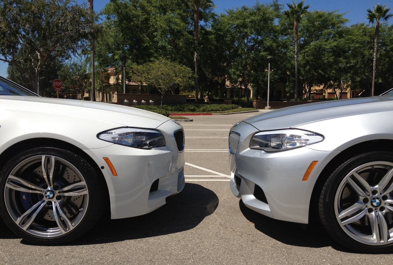 Socal F10 M5 Initial Review And Comparison To F10 550i M