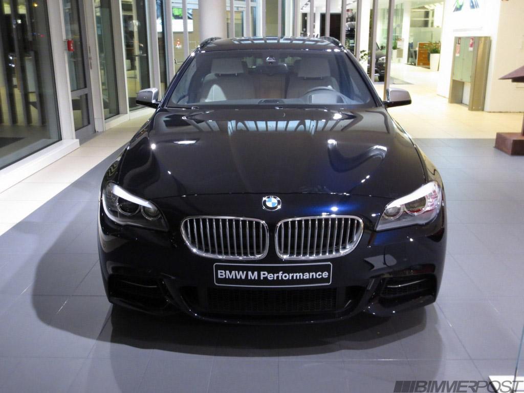 BMW Individual M5 and 5 Series  Frozen Bronze Frozen Blue