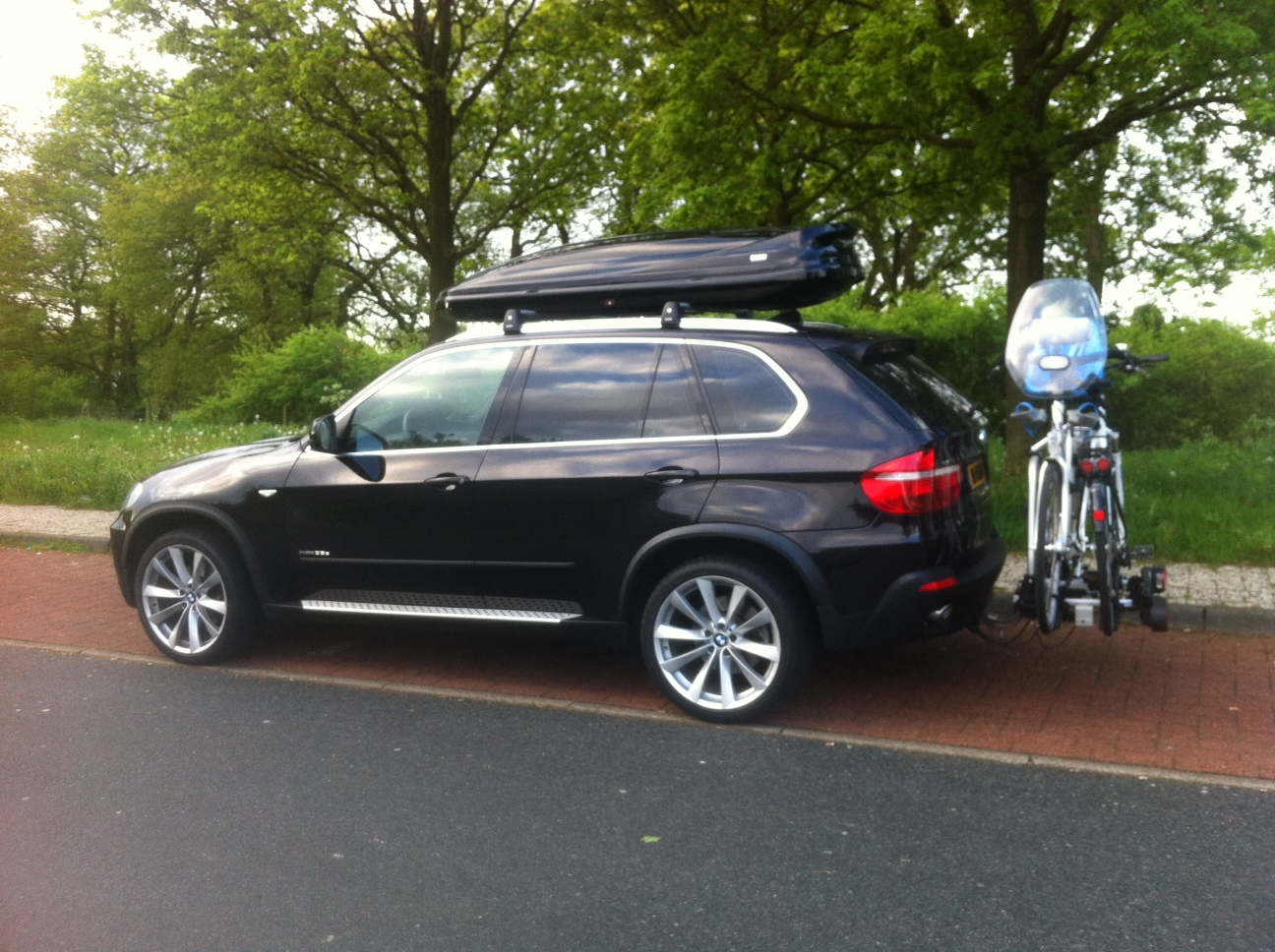 Rear Mounted Bike Rack For F10 M5 M5post Bmw M5 Forum