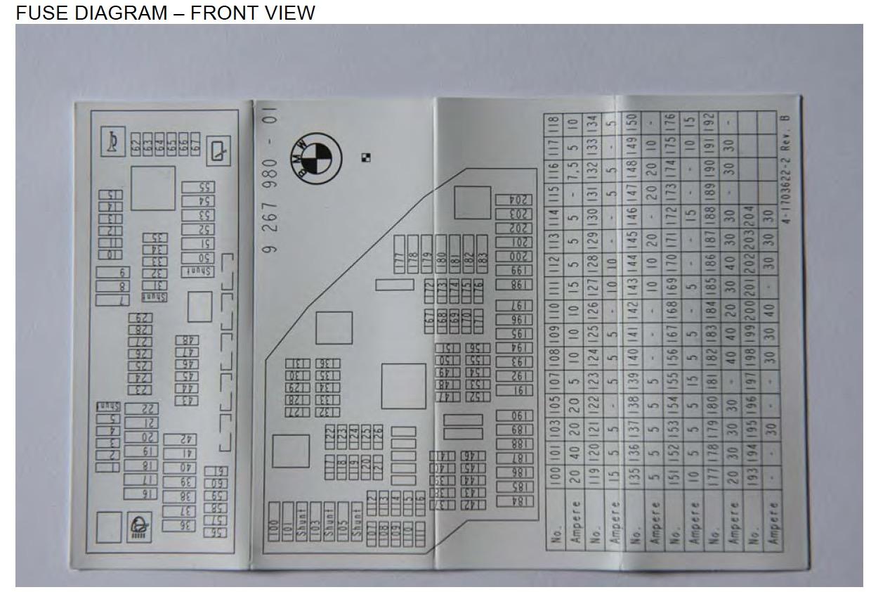 bmw 520d fuse box diagram 1990 bmw e30 fuse box diagram vanity light fuse passanger restraint system issue