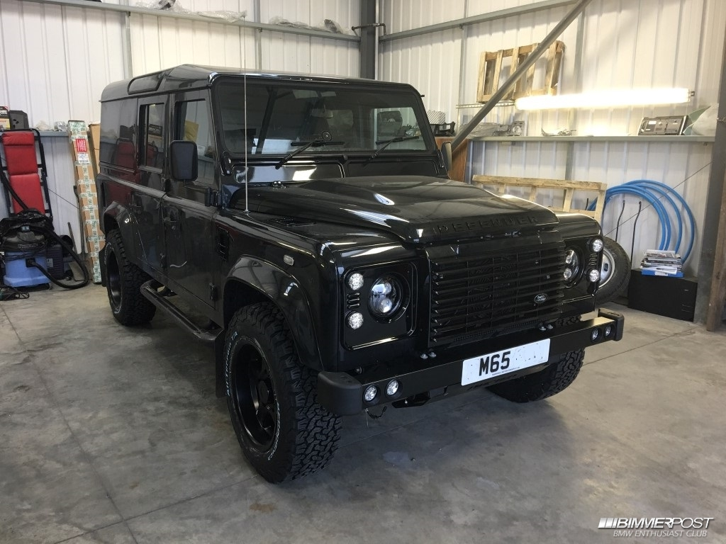 Heyzy78 39 s 2016 land rover defender 110xs utility for Land rover garage