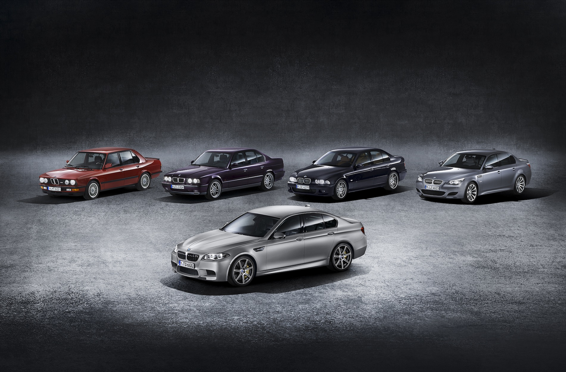 Bmw Palm Springs >> 30th Anniversary BMW M5 Edition: 600 HP / 516 LB-FT in Frozen Dark Silver. $138,275