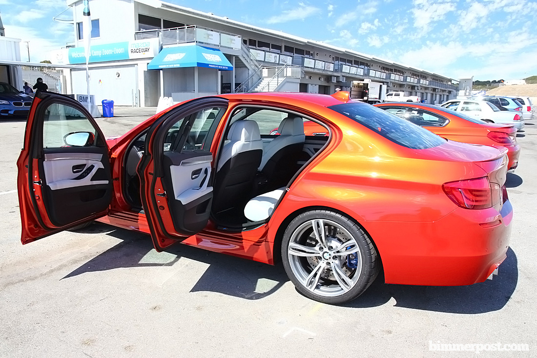 Is An M4 With Sakhir Orange Exterior With A Silverstone