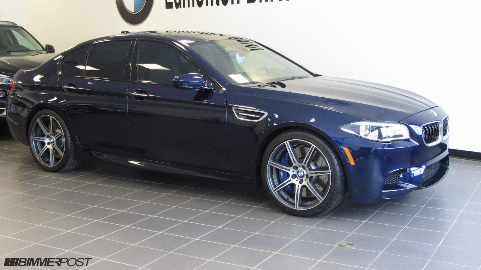 BMW Individual Tanzanite Blue & Cohiba Brown F10 M5 Competition