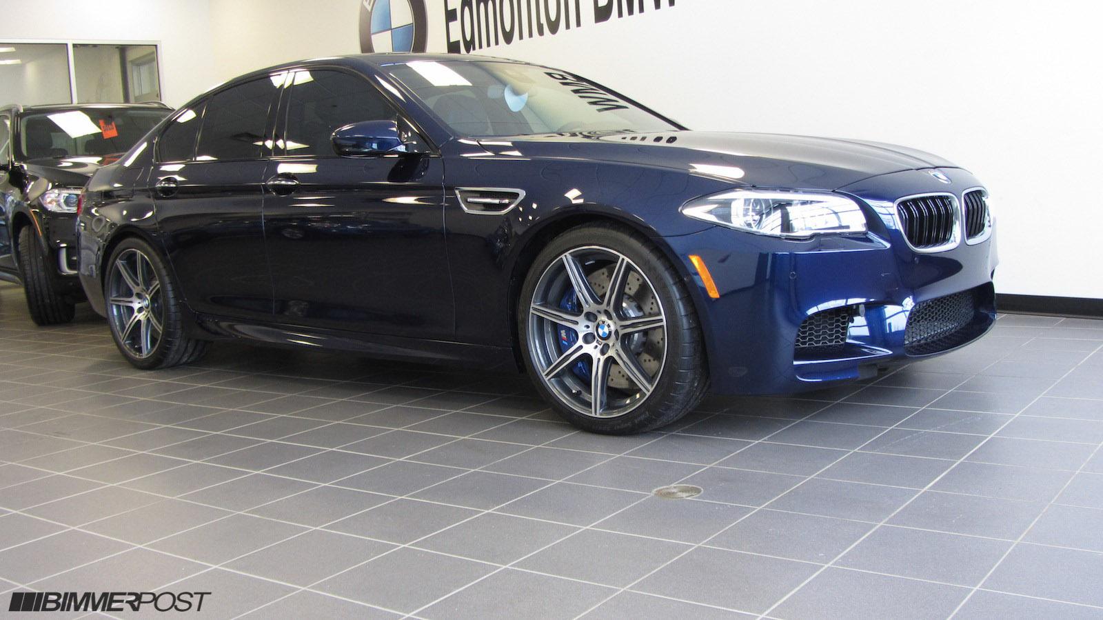 BMW Columbia Sc >> BMW Individual Tanzanite Blue & Cohiba Brown F10 M5 ...